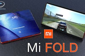 Xiaomi Mi Fold - Concept điện thoại màn hình gập phá cách 'khác người'