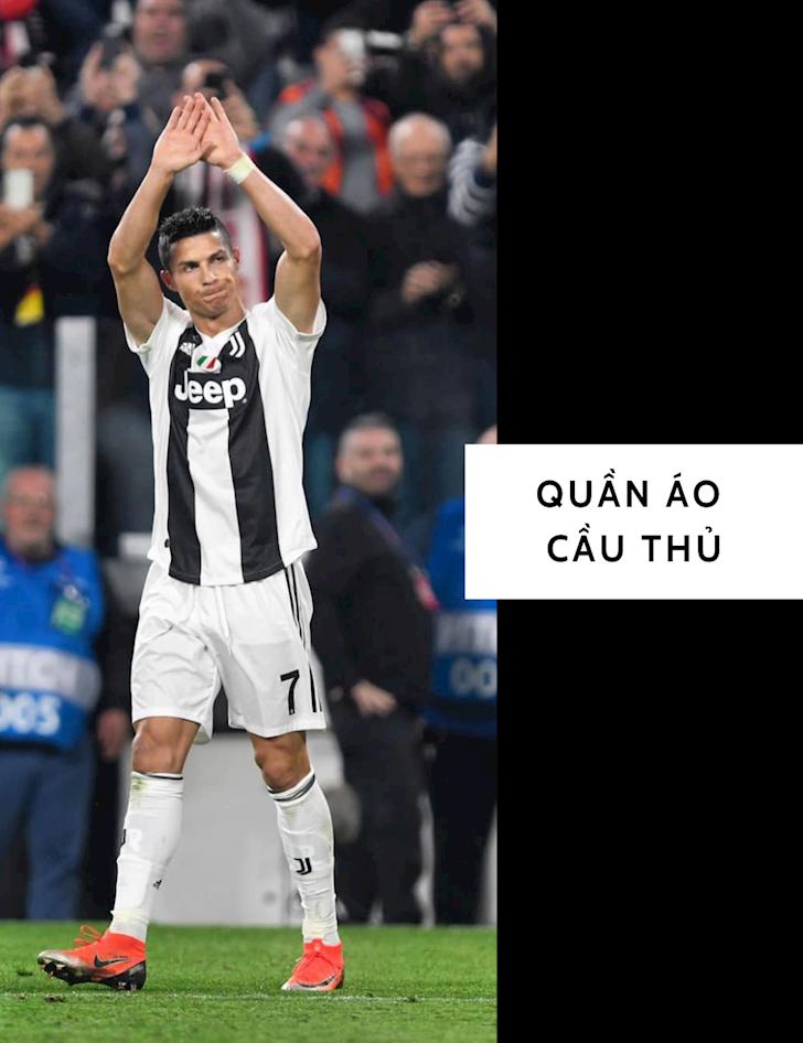 8 set đồ tăng nam tính học từ Cristiano Ronaldo