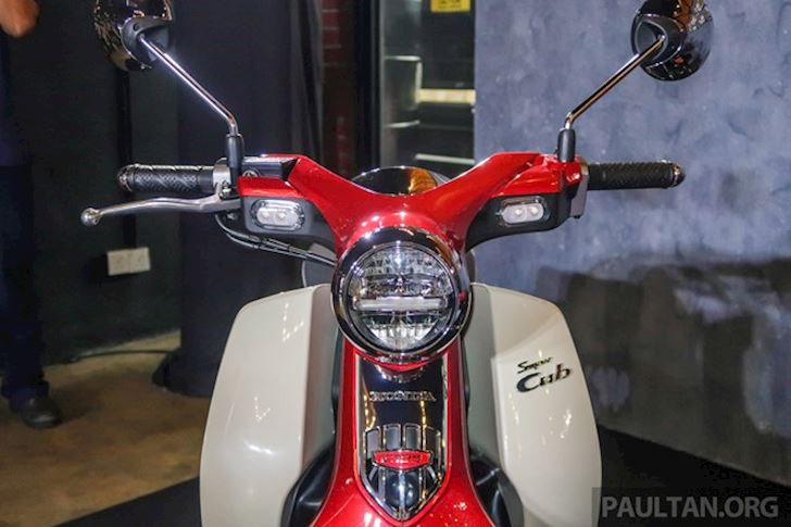 vi sao Honda Super Cub C125 2019 co gia ban ngang sh