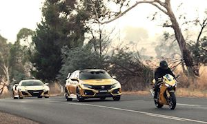 Honda CBR1000RR 2019 với dàn áo mạ vàng