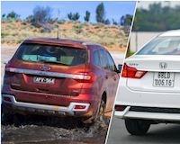 Tại sao kính sau xe sedan không có gạt nước còn SUV lại có?