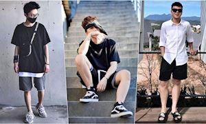 Hướng dẫn mẹo diện quần short 'hack tuổi' theo phong cách street style