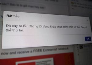 Facebook bất ngờ sập trên phạm vi toàn cầu, bạn có truy cập được không?