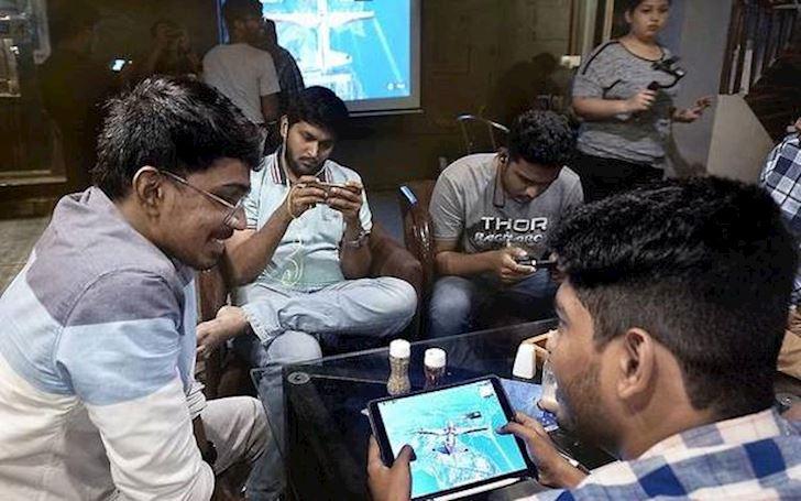 7 game thu bi bat vi choi PUBG Mobile o Rajkot Gujarat