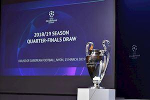 TRỰC TIẾP Bốc thăm tứ kết UEFA Champions League: Man Utd đại chiến Barcelona (LIVE)