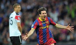 Messi - hung thần thực sự của Manchester United