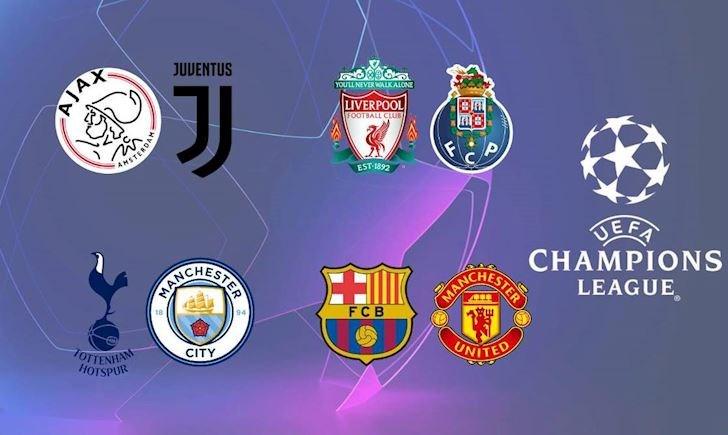 KẾT QUẢ bốc thăm tứ kết cúp C1: M.U đại chiến Barca, Tottenham đụng Man City