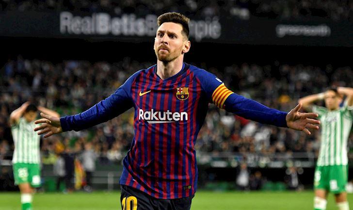 Messi lai ganh team cuc chat, Barca bien Betis thanh bia tap ban anh 1