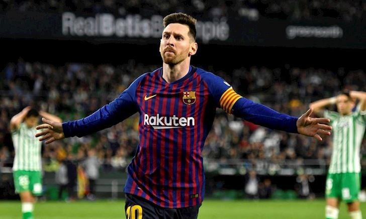Messi lập kỷ lục không tưởng, Barca biến Betis thành bia tập bắn