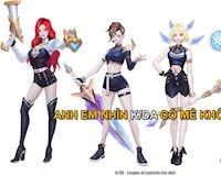 LMHT: Fan thiết kế skin K/DA siêu đẹp cho Miss Fortune, Lux, Riven và Syndra