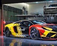 """Siêu xe Lamborghini Aventador """"loè loẹt"""" nhất thế giới"""