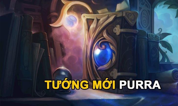 Hé lộ tướng mới Liên Minh Huyền Thoại: Cô ta tên là Purra