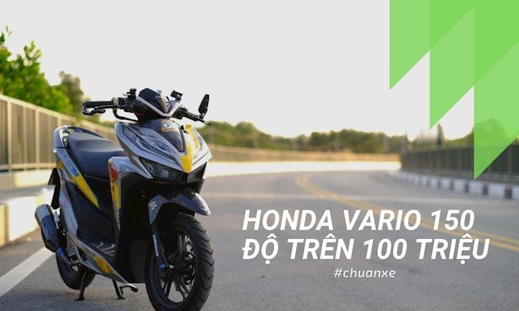 Honda Vario 150 độ nhẹ nhàng bay ngay trăm triệu