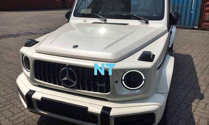 Đập hộp Mercedes G63 AMG 2019 màu trắng đầu tiên tại Việt Nam