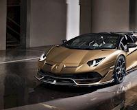 Siêu xe mui trần Lamborghini Aventador SVJ Roadster mạnh 770 mã lực