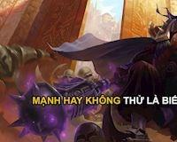 Top tướng trùm solo 1vs1 mạnh nhất Liên Minh Huyền Thoại