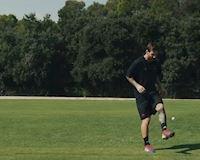 CLIP: Messi khoe thử thách tâng đủ thứ trên đời như tâng bóng