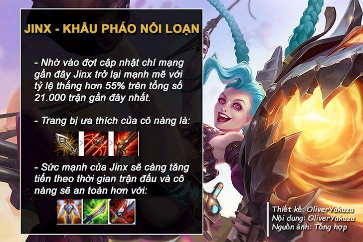 Nhung bi mat thu vi cua Jinx Khau Phao Noi Loan