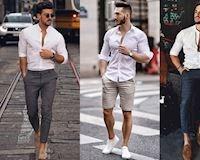 Thích mặc sơ mi trắng đây là 6 cách phối dành cho bạn