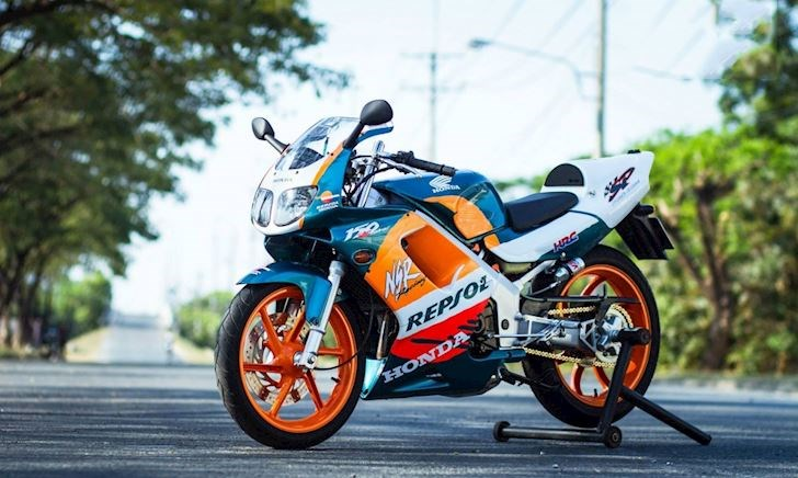 Honda NSR động cơ 150 chạy lên hơn 200 km/h
