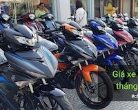 Giá xe Yamaha tháng 4/2019 giảm mạnh