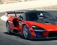 Xem siêu xe Mclaren Senna tăng tốc lên 300 km/h nhanh đáng sợ