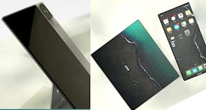 Concept ấn tượng về iPhone gập với thiết kế vuông vức và gọn gàng