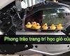 Độc đáo với cách độ bầu lọc gió vui nhộn của biker Việt