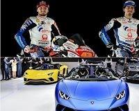 2 tay đua Moto GP của Ducati được tặng dàn siêu xe Lamborghini