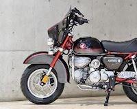 Cách lột xác Honda Monkey thành Harley-Davidson