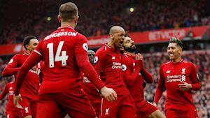 Salah lập siêu phẩm, Liverpool tiếp tục thách thức Man City