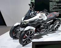 Siêu mô tô quái của Honda trình diện