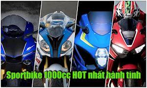 Đâu là chiếc sportbike HOT nhất hành tinh?