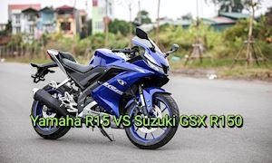 Suzuki GSX R150 sao đấu lại Yamaha R15