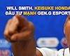 Gen.G Esports nhận được tài trợ hơn 46 triệu USD từ Will Smith, Keisuke Honda…