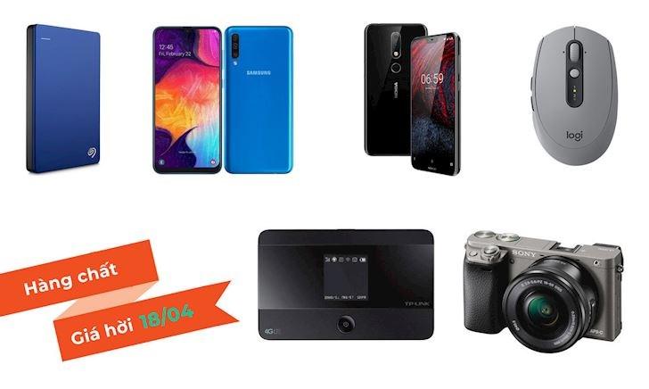 Hàng chất giá hời: Deal công nghệ hấp dẫn 18/4 - Ổ cứng, chuột và cả smartphone giá tốt quá
