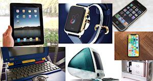 Thú vị 18 sản phẩm của Apple khiến cả thế giới thay đổi trong hơn 4 thập kỷ qua