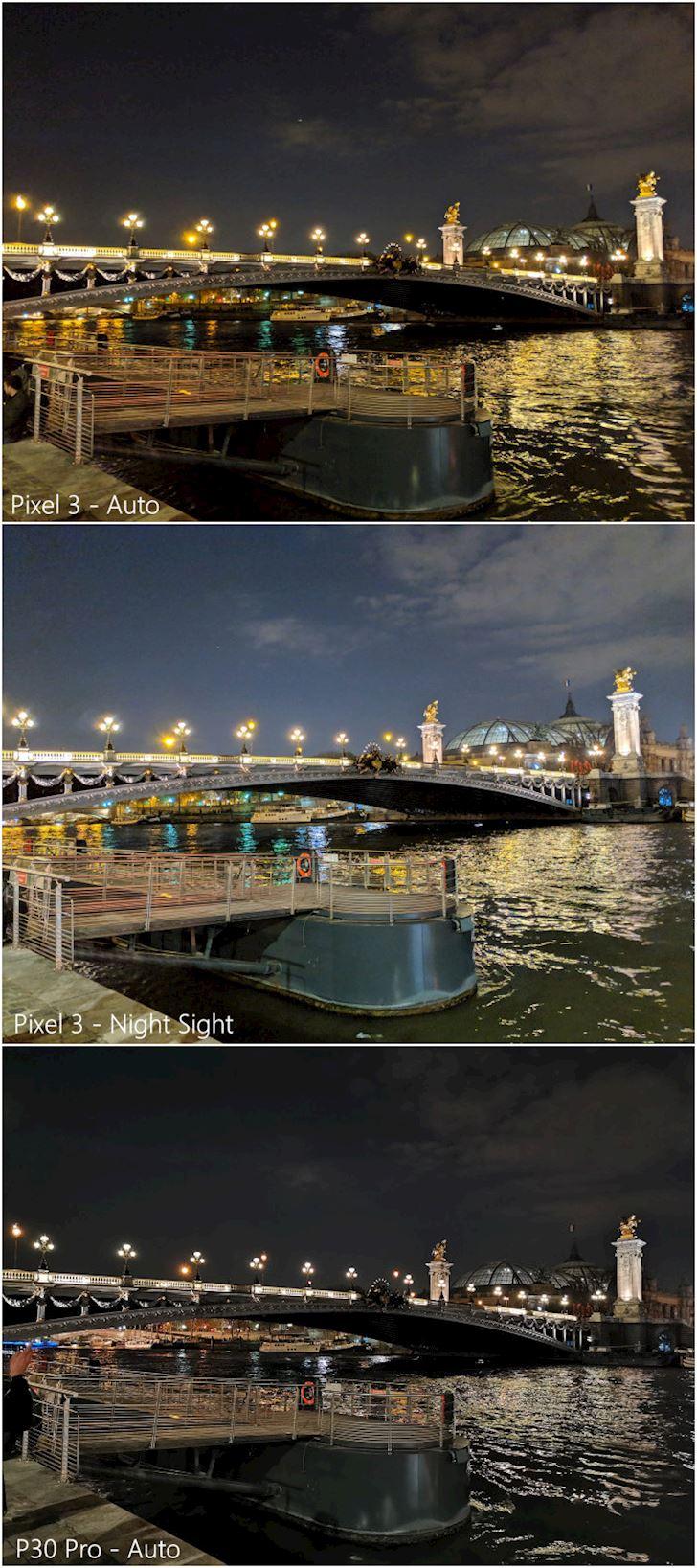 Chụp đêm: 3 camera của Huawei P30 Pro có địch lại 1 camera của Pixel 3?