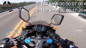 Max speed CBR250RR - Chiếc PKL đẹp nhất 250cc