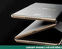 Không phải X cũng không Y, Concept iPhone Z này sẽ đánh bay mọi smartphone màn hình gập hiện nay