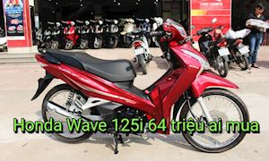 Honda Wave 125i nhập Thái giá tới 64 triệu đồng, ai mua?