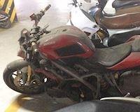 Xót xa nhìn Ducati hơn nửa tỷ bị bỏ xó phủ bụi