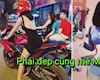 Hotgirl chạy R3 làm các Biker điên đảo