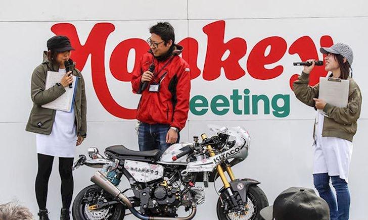 Xe khỉ độ Café racer độc nhất thế giới