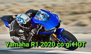 Cá trê Yamaha R1 2020 sẽ giống M1 hơn