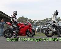 Ducati 1199 Panigale đại chiến BMW S1000RR và cái kết khi gặp ông trùm