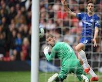 De Gea sai lầm khiến Man United đánh mất chiến thắng trước Chelsea