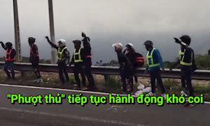 Phượt thủ thách thức dư luận khi chặn xe ngay đường đèo để nhảy múa