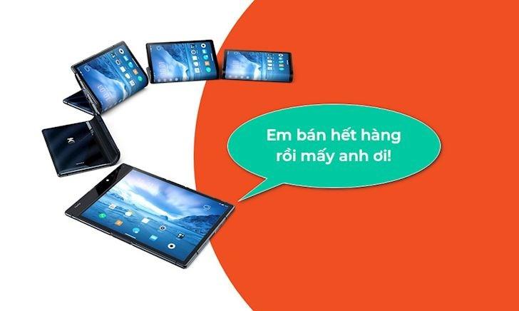 Chiếc smartphone màn hình gập Flexpai ra mắt trước cả Galaxy Fold giờ ra sao?
