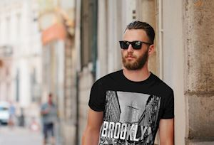 Nam giới 20 tuổi street style chỉ cần mặc áo thun là đủ chuẩn chất chơi
